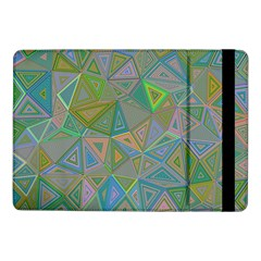 Triangle Background Abstract Samsung Galaxy Tab Pro 10 1  Flip Case