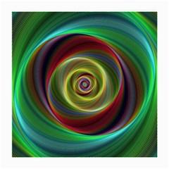 Spiral Vortex Fractal Render Swirl Medium Glasses Cloth