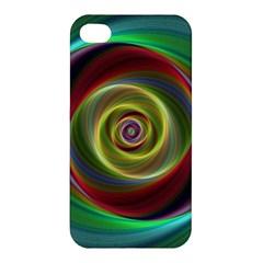 Spiral Vortex Fractal Render Swirl Apple Iphone 4/4s Hardshell Case