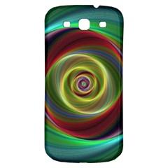 Spiral Vortex Fractal Render Swirl Samsung Galaxy S3 S Iii Classic Hardshell Back Case