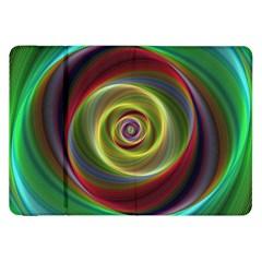 Spiral Vortex Fractal Render Swirl Samsung Galaxy Tab 8 9  P7300 Flip Case