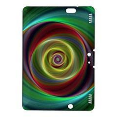 Spiral Vortex Fractal Render Swirl Kindle Fire Hdx 8 9  Hardshell Case