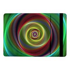 Spiral Vortex Fractal Render Swirl Samsung Galaxy Tab Pro 10 1  Flip Case