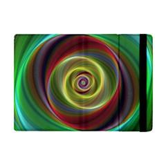 Spiral Vortex Fractal Render Swirl Ipad Mini 2 Flip Cases