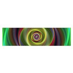 Spiral Vortex Fractal Render Swirl Satin Scarf (oblong)
