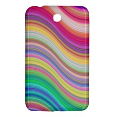 Wave Background Happy Design Samsung Galaxy Tab 3 (7 ) P3200 Hardshell Case