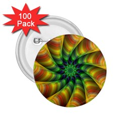 Vision Wallpaper Decoration 2 25  Buttons (100 Pack)