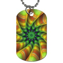 Vision Wallpaper Decoration Dog Tag (one Side)