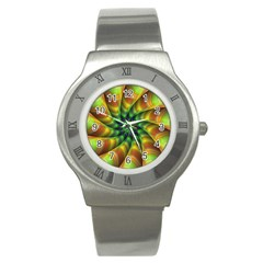 Vision Wallpaper Decoration Stainless Steel Watch