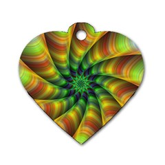 Vision Wallpaper Decoration Dog Tag Heart (one Side)