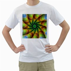 Vision Wallpaper Decoration Men s T Shirt (white)