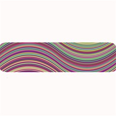 Wave Abstract Happy Background Large Bar Mats