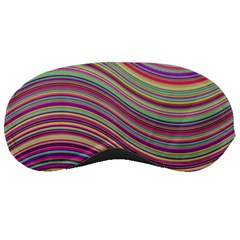 Wave Abstract Happy Background Sleeping Masks