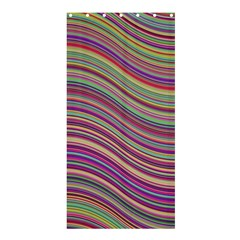 Wave Abstract Happy Background Shower Curtain 36  X 72  (stall)