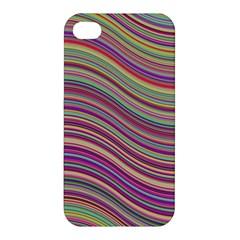 Wave Abstract Happy Background Apple Iphone 4/4s Premium Hardshell Case