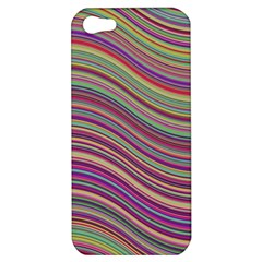 Wave Abstract Happy Background Apple Iphone 5 Hardshell Case