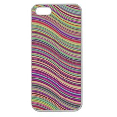 Wave Abstract Happy Background Apple Seamless Iphone 5 Case (clear)