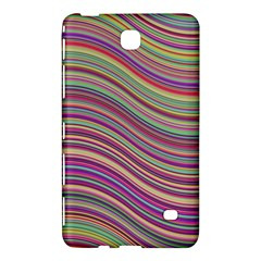 Wave Abstract Happy Background Samsung Galaxy Tab 4 (7 ) Hardshell Case