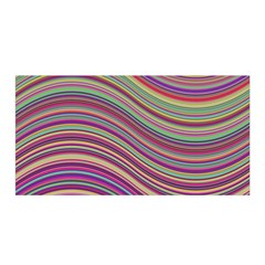 Wave Abstract Happy Background Satin Wrap