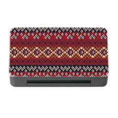 Native American Pattern 8 Memory Card Reader With Cf