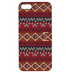 Native American Pattern 8 Apple Iphone 5 Hardshell Case With Stand