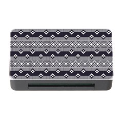 Native American Pattern 9 Memory Card Reader With Cf