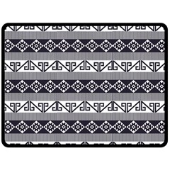 Native American 12 Fleece Blanket (large)