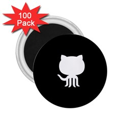 Logo Icon Github 2 25  Magnets (100 Pack)