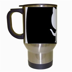 Logo Icon Github Travel Mugs (white)