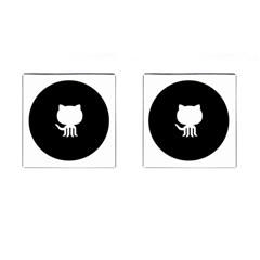 Logo Icon Github Cufflinks (square)