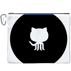 Logo Icon Github Canvas Cosmetic Bag (xxxl)