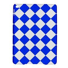Blue White Diamonds Seamless Ipad Air 2 Hardshell Cases