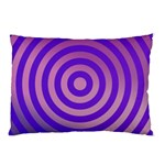Circle Target Focus Concentric Pillow Case (Two Sides) Back