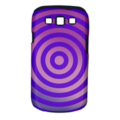 Circle Target Focus Concentric Samsung Galaxy S Iii Classic Hardshell Case (pc+silicone)