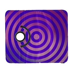 Circle Target Focus Concentric Galaxy S3 (flip/folio)