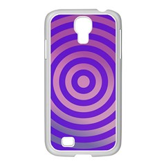 Circle Target Focus Concentric Samsung Galaxy S4 I9500/ I9505 Case (white)