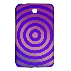 Circle Target Focus Concentric Samsung Galaxy Tab 3 (7 ) P3200 Hardshell Case