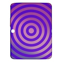 Circle Target Focus Concentric Samsung Galaxy Tab 3 (10 1 ) P5200 Hardshell Case