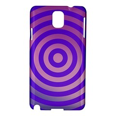 Circle Target Focus Concentric Samsung Galaxy Note 3 N9005 Hardshell Case