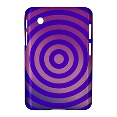 Circle Target Focus Concentric Samsung Galaxy Tab 2 (7 ) P3100 Hardshell Case