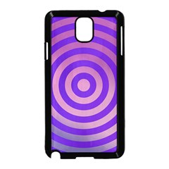 Circle Target Focus Concentric Samsung Galaxy Note 3 Neo Hardshell Case (black)