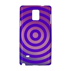 Circle Target Focus Concentric Samsung Galaxy Note 4 Hardshell Case