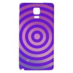 Circle Target Focus Concentric Galaxy Note 4 Back Case