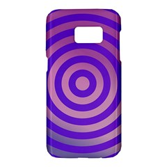 Circle Target Focus Concentric Samsung Galaxy S7 Hardshell Case