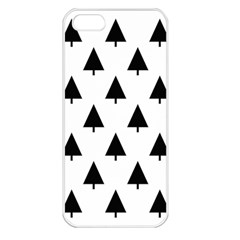 Scrap Background Spruce Christmas Apple Iphone 5 Seamless Case (white)