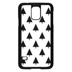 Scrap Background Spruce Christmas Samsung Galaxy S5 Case (black)