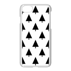 Scrap Background Spruce Christmas Apple Iphone 7 Seamless Case (white)