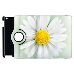 Art Daisy Flower Art Flower Deco Apple Ipad 3/4 Flip 360 Case
