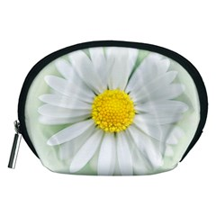 Art Daisy Flower Art Flower Deco Accessory Pouches (medium)