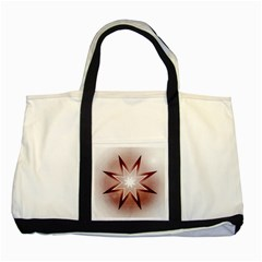 Star Christmas Festival Decoration Two Tone Tote Bag